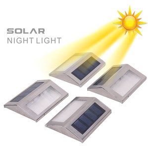 Wholesale Solar LED Night Light Easy to Install Outdoor Waterproof Light Sensor Security for Patio Deck Yard Garden Auto Dusk To Dawn On Off Wall Lamp