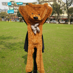 "New Design Daddy 140cm  55 ""Inch Semi -Finished Products Teddy Bear Skin ,Plush Bear Skin ,Plush Toys 5 Color Can Choose"