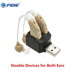 Wholesale High Frequency rechargeable hearing aids FEIE vacuum-tube for elderly deaf as Gift Home Health Care with free technical support S-109S