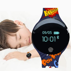 Children Watches Bracelet Smart Watch Kids 3d Touch Screen Digital Led Sport Watch Silicone Child Wrist Clock Relogio Masculino J190523