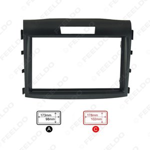Car refitting DVD frame Panel Dash Kit Fascia Radio Frame Audio frame for 12-15 Honda CRV 2DIN #1645