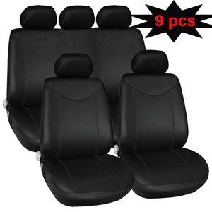 9-piece kongyide Automobiles Seat Covers Universal Single mesh, no sponge net Full Car Seat Cover Pad Mat Auto protection Jun27