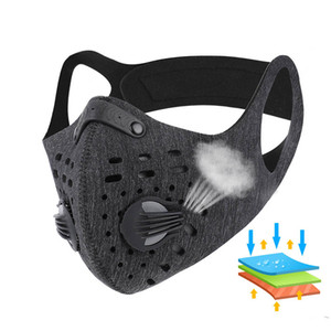 fahrradstaub großhandel-Mode Party Masken Anti Staub Sport Laufendes Training Gesicht Masken MTB Rennrad Anti Dust Mundabdeckung Outdoor Sports Radfahren Party Mask