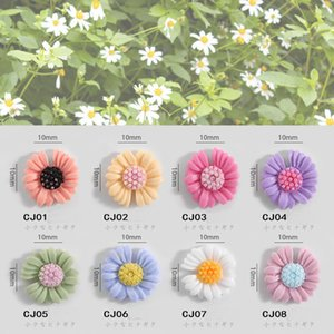 Wholesale summer nails colors for sale - Group buy Nail Art Decoration Flower Daisy Summer Design box Colors For Choose Can Be Mixed Diy Nail Ornaments New Korean Style Resin New