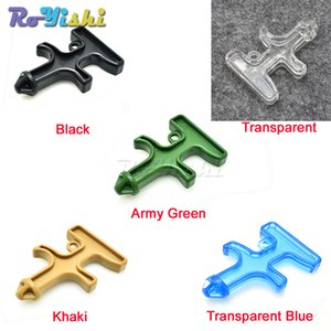 10pcs lot New Fashion Nylon Plastic Steel Drill Mini Self Defense Stinger Drill Protect Tool Key Chain