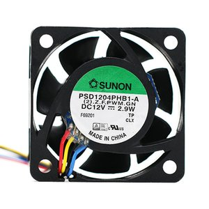 Original SUNON 4015 PSD1204PHB1-A (2).Z.F.GN 12V 2.9W 4Wire Cooler Fan