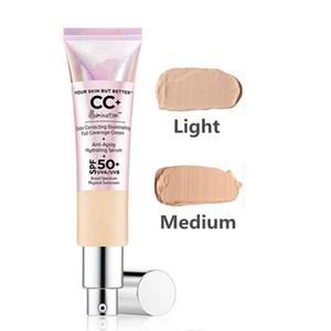 TOP QUALITY!CC cream Your Skin But Better CC+ cream Color Correcting Illuminating Full Coverage Cream 32ml FREE DHL