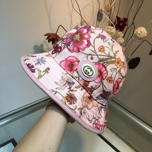 Wholesale Autumn winter new products women fishermans hat with flower bird color drawing Fishermans hat with luxurious design and rich color