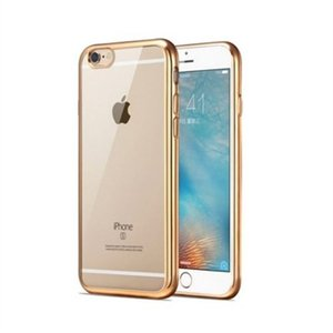 Teleplus for iphone 6s laser silicone case rose gold ship from turkey hb-001908678