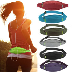 Wholesale Cangurera Para La Cintura Mini Phone Waist Bum Hip Bag Belt Bags Men Bolsa Cintura Fannypack Sac Ceinture Black Fanny Pack K051