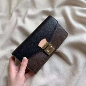 Wholesale Han Edition Wallet Restoring Ancient Ways Female Long Printing Color Joker Lock Phone Bump Card Package Designer Wallet Purse Luxury Women