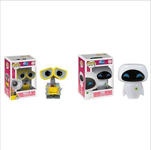 Funko Pop wall-e EVE Vinyl Action Figure With Box Toy Gift Doll Good Quality FOT KIDS TOYS Movie Figures on Sale