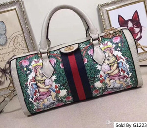 Colorful Genuine Leather 524532 design rabbit Luxury bags High handbag Woman size 32-16-12 cm