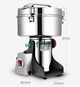 Wholesale Big Capacity G Spice Herb Salt Rice Coffee Bean Cocoa Corn Pepper Soybean Leaf Mill Powder Grinder Machine