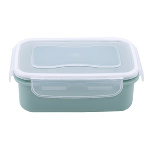 Useufl 1 Pcs Creative Fresh Small Fruit Snack Storage Box Plastic Container Kitchen Sauce Storage Box Square Round on Sale