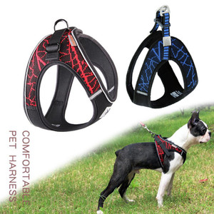 No-pull Sport Reflective Dog Harness For Small Medium Large Dog Outdoor Training Walking Safety Vest Harness Leash
