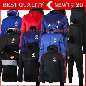 Wholesale 2019 ALEXIS tracksuit Football jacket Utd tracksuit POGBA LUKAKU de foot LINDELOF UNITED men s jacket Training suit