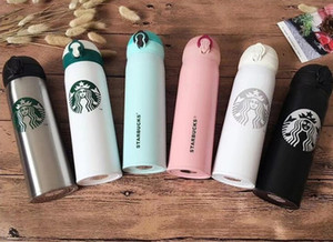 2020 latest 16OZ Starbucks men and women favorite mugs with coffee cups stainless steel cups support custom logo free shipping