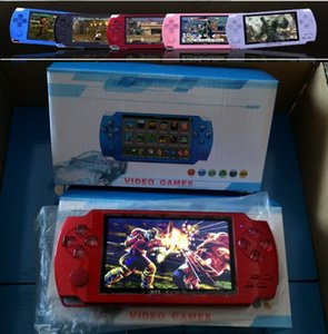 Wholesale free dhl video game resale online - 4 Inch PMP Handheld Game Player MP3 MP4 MP5 Player Video FM Camera Portable GB Game Console free DHL
