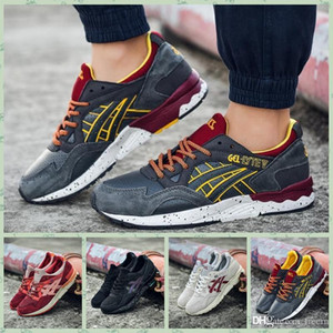 Wholesale AGLV1A RONNIE FIEG x GEL LYTE Vs SAGE Outdoor Running Shoes Mens And Womens Lightweight Breathable Athletic Sneakers EUR36