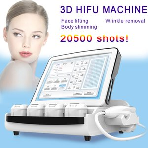 Wholesale Hifu D Portable Machine Wrinkle Removal Ultrasound Body Slimming D HIFU Beauty Equipment A Press can shot lines
