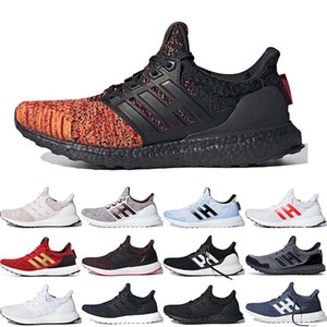 Hot Selling Ultraboost game of thrones Women Mens Running Shoes House Targaryen Dragons Night's Watch Triple White Black Pink Orea Sneakers