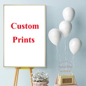 Wholesale ome Decor Painting Calligraphy D Custom Canvas Poster Digital Photo Landscape Printed Painting High Quality Canvas Customized Pictures