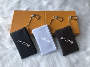 Wholesale Free Shipping! Special 4 colors Key Pouch Zip Wallet Coin Leather Wallets Women designer purse 62650