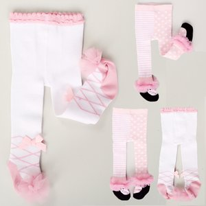 Wholesale cotton trouser socks resale online - 0 T Toddler Kids Baby Girl Boy Cotton Stockings Warm Tights Stockings Pantyhose Pants Trousers Cute Tights