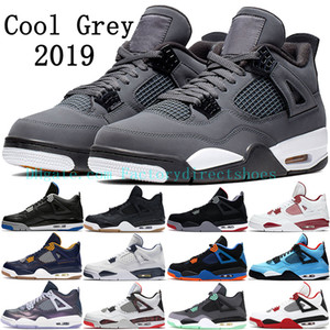 Wholesale 2019 Cool Grey Bred Jumpman s basketball shoes Monsoon Blue GS Black Cement Thunder Raptors Black Laser Royal men mens sneakers trainers