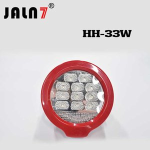 Wholesale 33Watts INCH round V V LED WORK LIGHT SPOT FLOOD BEAM FOG LAMP FOR OFFROAD Truck WD ATV SUV TRACTOR DRIVING LIGHTS