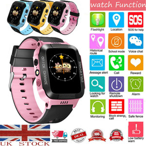 Wholesale GPS tracker KIDS Smart Watch Phone Flashlight SOS Call Alarm Step counter Camera USB2 For Kids Child SIM card G G