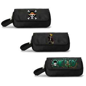1Pc Skull Fairy Tail Teddy Makeup Cosmetic Brush Travel Bag Case Pen Pencil Pouch Purse Wallet
