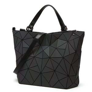 Wholesale Geometry women s handbags sac Japan style luminous women bags Brand Design tote Ladies shoulder crossbody bag female Purse