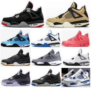 Wholesale New s Mushroom Bred Laser Black Gum Hot Punch Men Basketball Shoes Motorsport Game Royal Fear Pack Military Blue Sneakers With Box