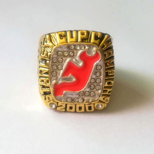 Wholesale New Jersey Devils Stevens Stanley Cup Championship Ring Sport Fan Men Gift Drop Shipping