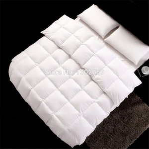 Wholesale down comforters resale online - Make Any Size European Hungarian Down Comforter Doona Quilt Blanket We are Factory