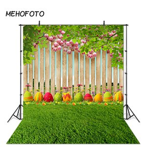 Wholesale Spring Natures Photographic Background for Easter Eggs Green Grass Newborns Baby Photography Backdrops Photobooth Studio Props