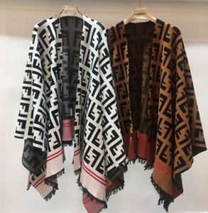 19ss Autumn White Khaki Letter Print Tassel Autumn Women's coats Brand Same Style Women's coats on Sale
