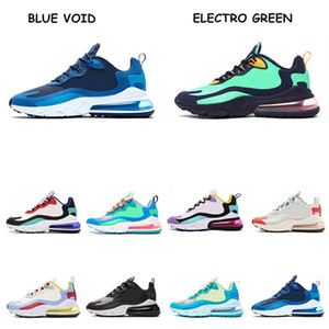 2019 React Blue Void Bright Violet BAUHAUS Mens Running Shoes Electro Green OPTICAL High quality mens trainer sports outdoor sneakers 36-45 on Sale