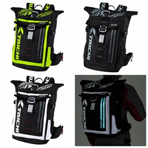 Wholesale 2019 new cross country motorcycle rider riding kit is waterproof racing kit RSB272 with LED cold light at night backpack for day and night