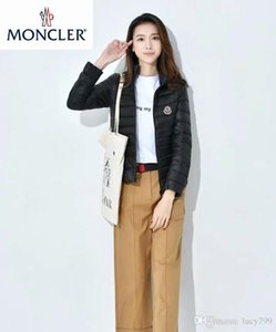 Wholesale Christmas M0ncler Winter Standing collar Short paragraph Thin light Womn s Down jacket Female Korean Slim fit Thin section light coat