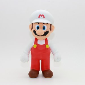 Wholesale more Styles Super Mario Bros toy Cartoon game Mario Luigi Yoshi princess Action Figure Gift For Kid toys