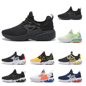 Wholesale ORIGNAL react presto Running shoes high quality sneaker mens women breathable Brutal Honey PSYCHEDELIC LAVA fashion sports trainer