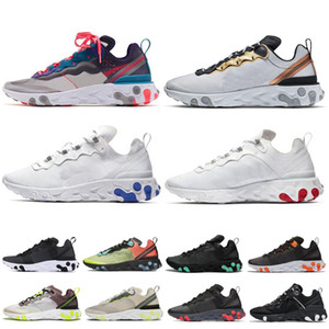 Wholesale 2020 React Element Undercover Men Women running shoes Desert Sand Royal Tint RED ORBIT mens designer SE Taped Seams sneakers