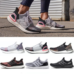 High Quality Ultraboost 19 and 3.0 Running Shoes Men Women Ultra Boost ub19 Primeknit Runs White Black Athletic Designer Shoes Size 36-47