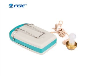 Pocket Hearing Aid Answer Phone Earphone Cheap Hearing Amplifier Sound Ear Care Health for Deafness Wire Earplugs S-93