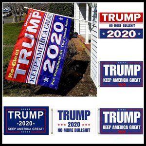 Wholesale 90 cm Trump Flag Styles Donald Flags Keep America Great Again Polyester Decor Banner For President USA Feet