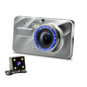 Wholesale Hd Screen Dual Lens Car Dvr Car Camera Recorder g Night Vision Recorder Portable G sensor Drive Video Parking Monitor