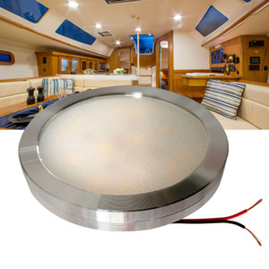 Wholesale 12v DC LED Under Cabinet Light Cool White Silver Shell Caravan RV Interior Lamp Roof Kitchen light